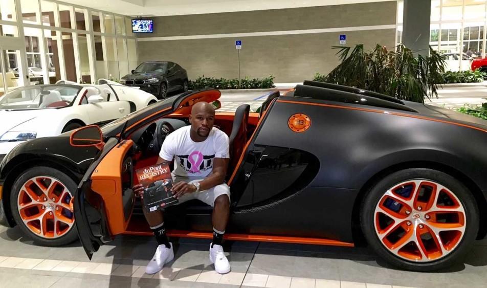 floyd money mayweather 39 s newest exotic car speedvegas. Black Bedroom Furniture Sets. Home Design Ideas