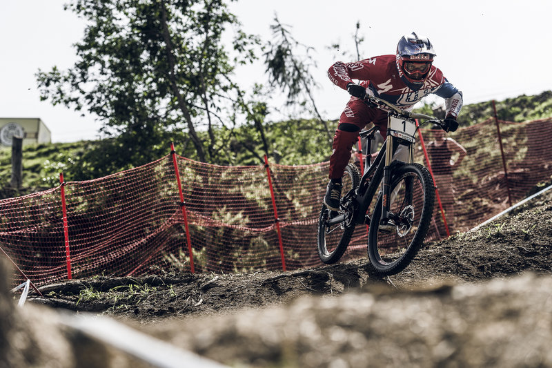 Leogang, Austria. Easily one of the most spectacular stops on the 2014 UCI MTB World Cup Circuit. Fast lines, massive jumps, sketchy rock sections, and big crashes made for an incredible display of world class DH mountain biking.
