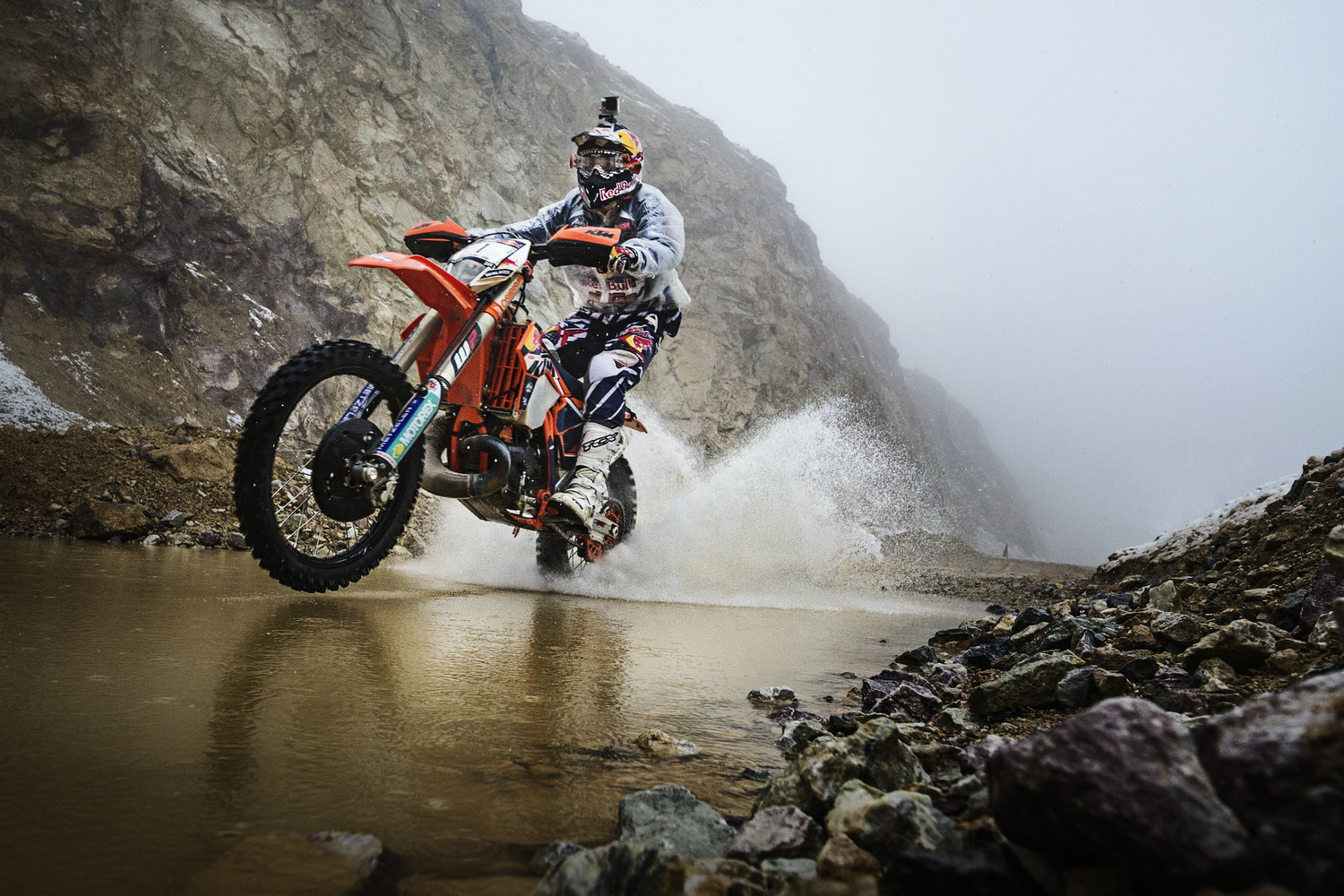Take a look back at the top crashes and biggest slams from one of the most grueling hard enduro races on earth, the Red Bull Hare Scramble.