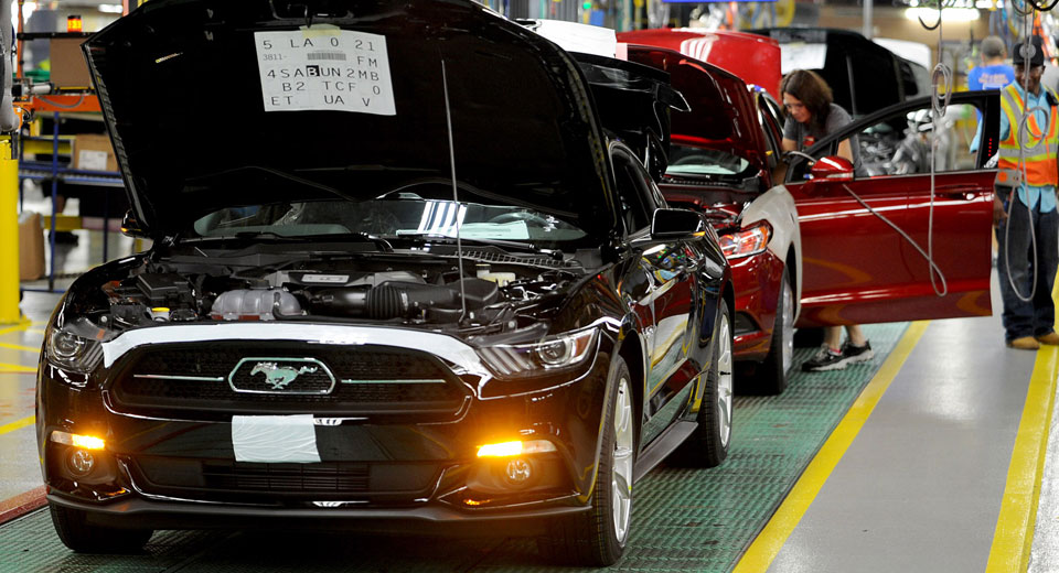Ford Halts Production of Mustang Due to Lagging Sales