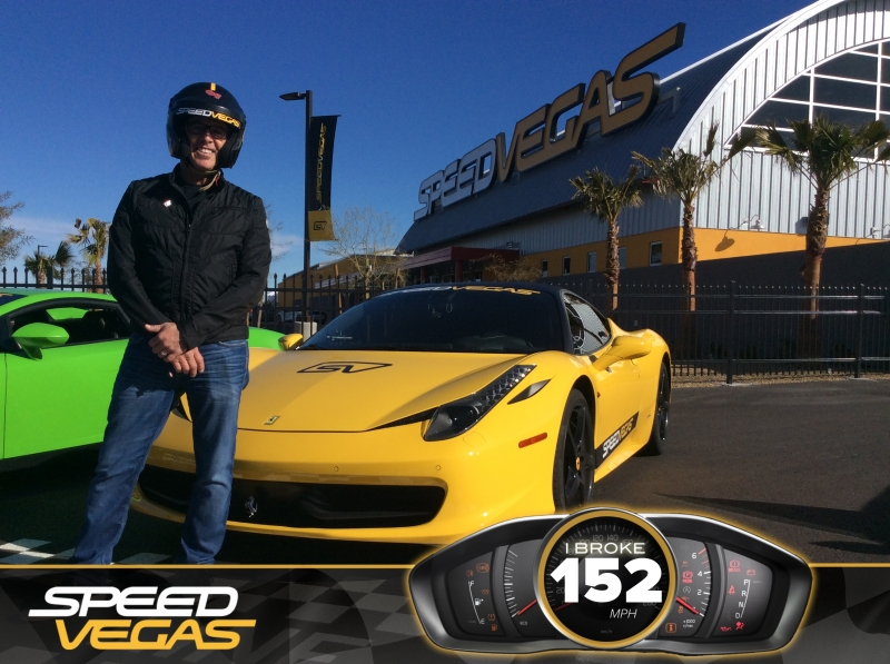 Blake Irving Visits SPEEDVEGAS