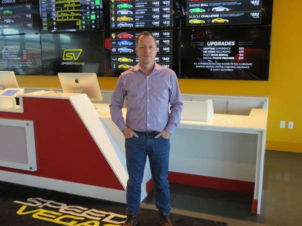 SPEEDVEGAS CEO & Founder, Aaron Fessler