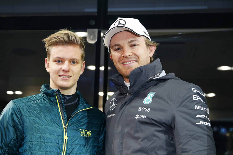 Mick Schumacher to Mercedes as future replacement for Nico Rosberg?