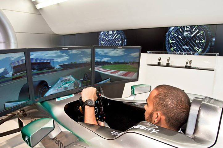 Lewis Hamilton: Formula 1 simulators are no better than computer games
