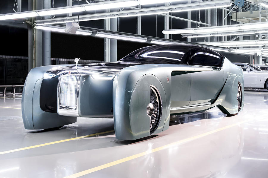 Rolls-Royce Unveils Three-Wheeled Vision Next 100